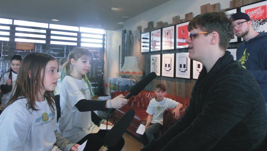 Jonathan im Interview