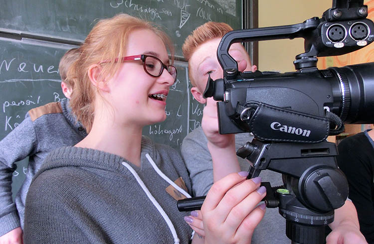 Übungen an der Kamera