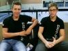 Jan Rotermund und Justus Gläser