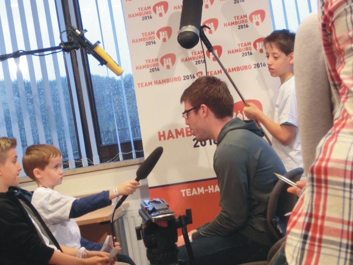 Johan interviewt Eric