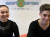 Juliane Egelke und Nikita Groß