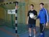 Toto und Marcell kurz vor dem 7-Meter-Duell