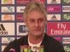 Armin Veh während der Pressekonferenz