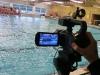 Schwimmbad-Schnittbilder