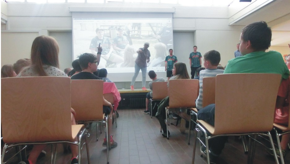 14_Präsentation mit Fragerunde